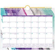 Cambridge Mirage Monthly Wall Calendar 11