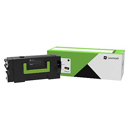 Lexmark™ 58D1U0E Ultra-High-Yield Black Toner Cartridge