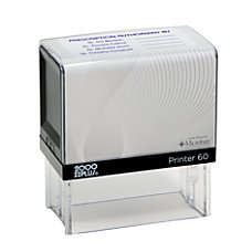2000 PLUS P60 Self Inking Stamp