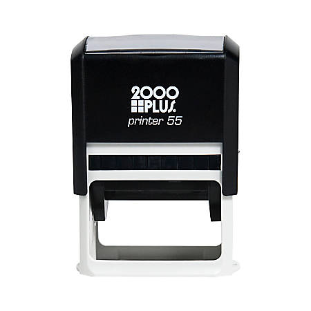 2000 plus self inking stamp p55 medium 1 12 x 2 14 impression by