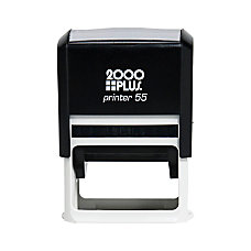2000 PLUS Self Inking Stamp P55