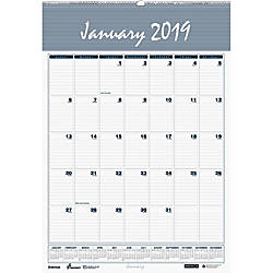 UNICOR Monthly Wall Calendar 12 x