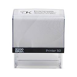 2000 PLUS Self Inking Stamp P50