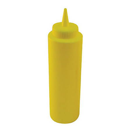 Winco Squeeze Bottle, 12 Oz, Yellow
