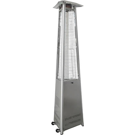 Hanover 7 Ft. Pyramid Propane Patio Heater in Stainless Steel