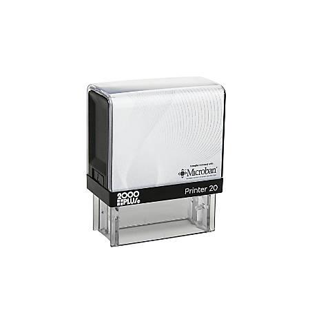 """2000 PLUS® Self-Inking Stamp, P20 Medium, 1/2"""" x 1 7/16"""" Impression"""