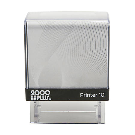 "2000 PLUS® Self-Inking Small Stamp, P10, 5/16"" x 1"" Impression"