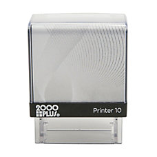 2000 PLUS Self Inking Small Stamp