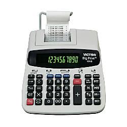 Victor 1310 Big Print Calculator