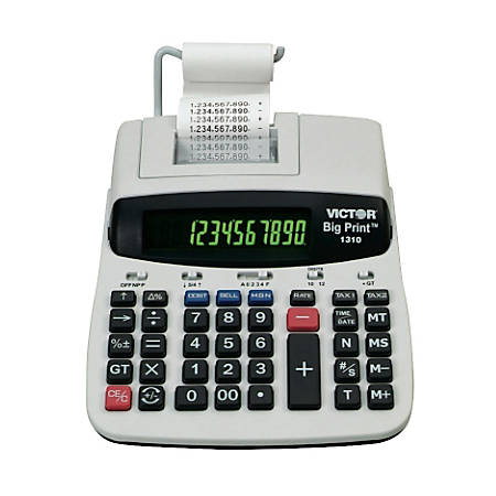Victor® 1310 Big Print Calculator