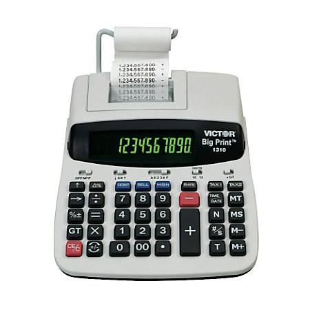 Victor® 1310 Big Print Calculator