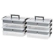 IRIS 4 Cup Layered Latch Boxes