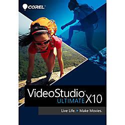 VideoStudio Ultimate X10 Windows Download Version