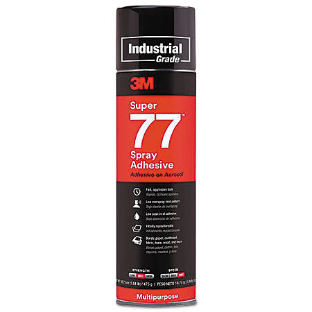 Super 77 Mult-Purpose Spray Adhesive, 24 oz, Spray Can