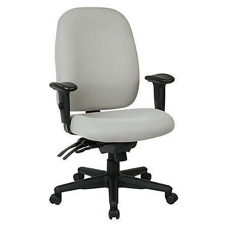 WorkPro® 2000 Series Multifunction Fabric High-Back Chair, Gray/Black