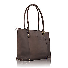 SOLO Vintage Leather Tote With 156