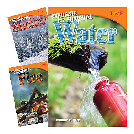 Teacher Created Materials TIME®: Counting On Survival 3-Book Set, Grade 6