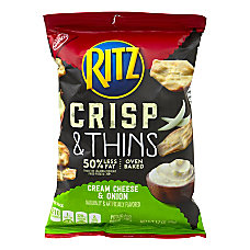 Ritz Crisps Sour Cream Onion 175