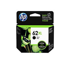 HP 62XL High Yield Black Ink