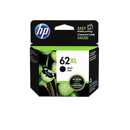 HP 62XL High Yield Black Original Ink Cartridge (C2P05AN)