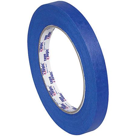 "Tape Logic® 3000 Painter's Tape, 3"" Core, 0.5"" x 180', Blue, Case Of 12"