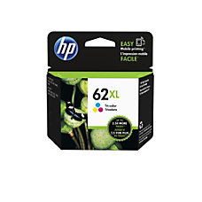 HP 62XL High Yield Tri color