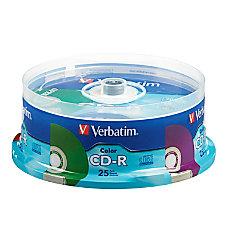 Verbatim CD R Recordable Media Discs