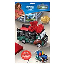 Amscan Cardstock Football Truck Utensil Caddy