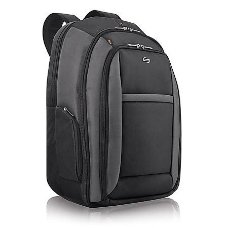 Solo® CheckFast?Laptop Backpack, Black