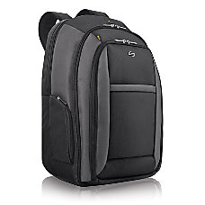 Solo CheckFast 16 Laptop Backpack Black