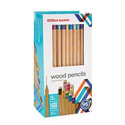 Office Depot Brand Natural Wood Pencils