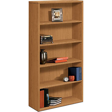 HON® 10500 Series™ 5-Shelf Bookcase, Harvest Cherry