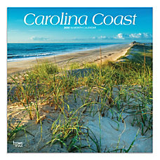 Brown Trout Monthly Wall Calendar Carolina