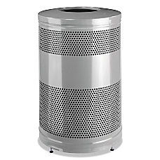 Rubbermaid Commercial Classics Round Steel Open