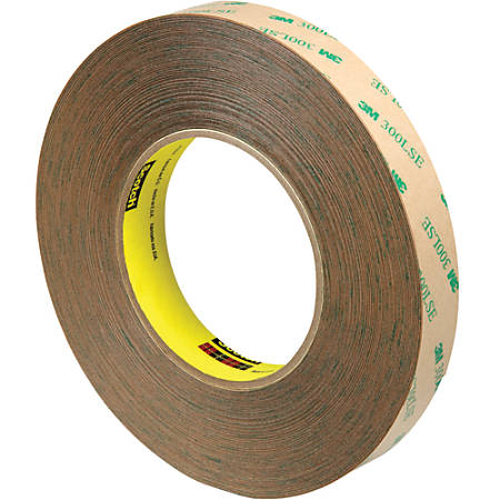 """Scotch® 9472LE Adhesive Transfer Tape Hand Rolls, 3"""" Core, 0.75"""" x 60 Yd., Clear, Case Of 3"""