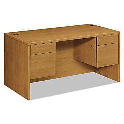 HON 10500 Series Double Pedestal Desk
