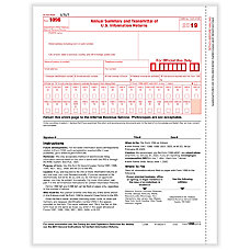 ComplyRight 1096 Transmittal Tax Forms 8