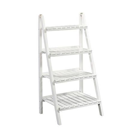 Sauder® Cottage Road 4 Tier Ladder Shelf, White