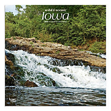Brown Trout Monthly Wall Calendar Iowa
