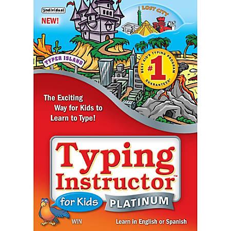 Typing Instructor for Kids Platinum, Download Version