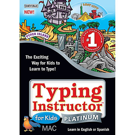 Typing Instructor for Kids Platinum MAC, Download Version