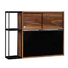 Sauder Harvey Park Wall Mounted Bar