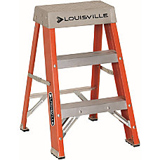 Louisville 2 Fiberglass Step Ladder 2