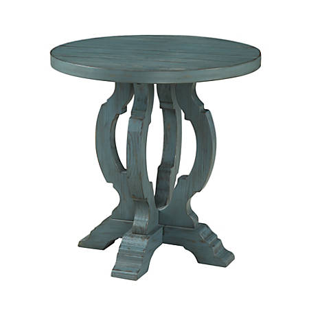 Coast to Coast Orchard Park Accent Table, Blue