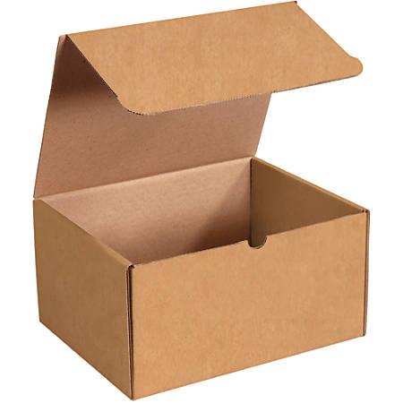 "Office Depot® Brand Literature Mailers, 11 1/8"" x 8 3/4"" x 6"", Kraft, Pack Of 50"