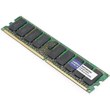 AddOn AA32C12864-PC333 x1 JEDEC Standard 1GB DDR-333MHz Unbuffered Dual Rank 2.5V 184-pin CL3 UDIMM