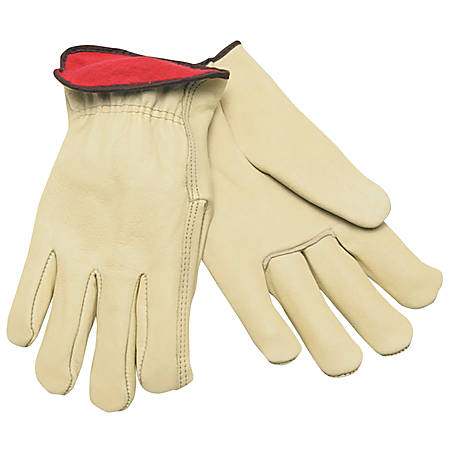 Memphis Glove Cowhide Driver's Gloves, Medium, Fleece Lined, Pack of 12 Pairs