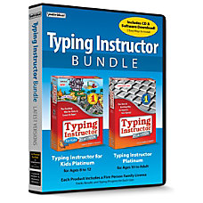 Individual Software Typing Instructor Bundle Typing