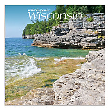Brown Trout Monthly Wall Calendar Wisconsin