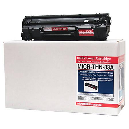 MicroMICR THN-83A (HP CF283A) Black MICR Toner Cartridge